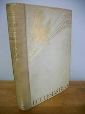 1927 ECCLESIATICUS with Violet Brunton Color Illustrations, 1st Ed
