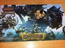 WOW  Playmat / Spielmatte Monstrous Essence Battleground Master