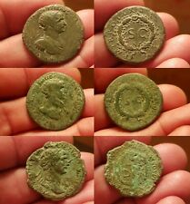 As de TRAJAN / Roman TRAIANUS / ANTIOCHE / 116 SYRIA  LOT de 3 As RIC.644