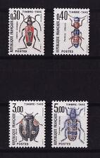 timbre France TAXE insectes coléoptères num: 109/112 **