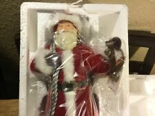 "2011 Hallmark Limited Ed Father Christmas 12"" Tabletop New"