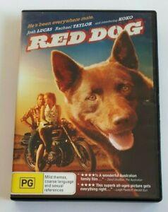 Red Dog Josh Lucas PAL DVD R4 VGC