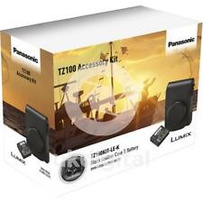 Panasonic Tz100 Accessory Kit Dmw-phs84xek Leather Case & Blg10 Battery