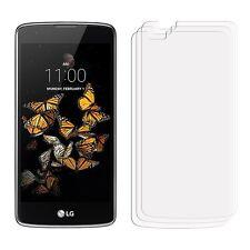 2 X Claro LCD LG K8 Film Protector De Pantalla Protector De Aluminio Para Teléfono Móvil