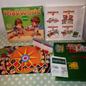 Vintage Playworld CIRCUS Children's Toy by Novell - Collectable Play World