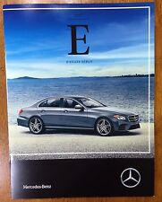2017 Mercedes Benz E Class Sedan E 300 4Matic catalog sales brochure