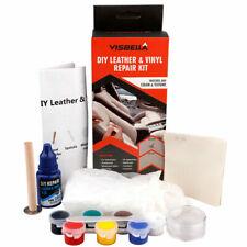 Car Seat Leather Vinyl Repair Kit DIY Leather Cuts Rips Cracks Burns Fix Tool
