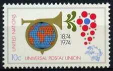 Nazioni Unite New York 1974 SG#250 UPU CENTENARIO Gomma integra, non linguellato #D62797