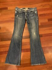 Womens William Rast R50994CA Low Rise Flare Jeans Size 30