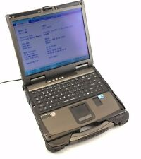 NCS Getac B300-X Rugged Laptop i7 L620 2 GHz 4GB RAM  no HD no Battery, Damaged