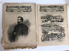 1862 Civil War Harpers Weekly A Journal Of Civilization Newspaper Lot 1 Day Ship