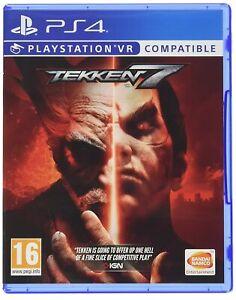 Tekken 7 PS4 VR Compatible PSVR Brand New Factory Sealed