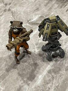 Marvel LegendsGuardians of the Galaxy Infinite Groot BAF Rocket Raccoon Figure