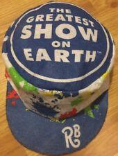 Ringling Bros. Barnum & Bailey  Greatest Show On Earth painter cap hat Retro VTG