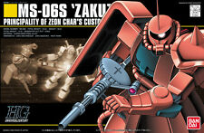 HGUC 1/144 MS-06S Zaku II Char's Custom from Gundam Plastic Model Kit Bandai JPN