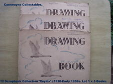 12 Scrapbook Collection  'Royals' c1930-Early1950s. Lot 1 x 3 AH3475.