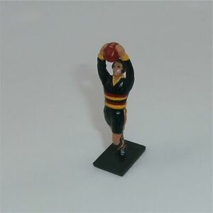 Adelaide Crows Painted Metal Figure Football Player Marking Ball