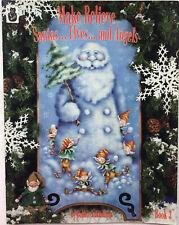 Make Believe 3 Santa's Elves & Angels by Bobbie Takashima Folk Art Painting Book