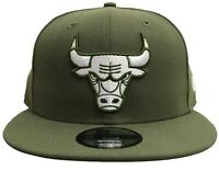 New Era NBA Chicago Bulls Custom Snapback Olive