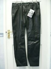 "Richa Classic Mens 38"" Leather Motorcycle Trousers Jeans"