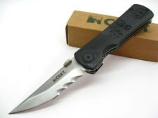 COLUMBIA RIVER CRKT Black G-10 HEIHO Assisted Serrated Folding TANTO Knife! 2901