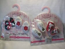 Sophia's Doll Shoes New in Original Packaging 4 pairs for 18 inch Dolls