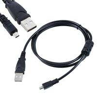 USB Battery Charger + Data SYNC Cable Cord For Sony CyberShot DSC-W730 S/L W730B