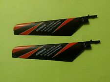 WLtoys V911 Helicopter Main Rotor Blades (Black/orange) - Replacement parts- USA