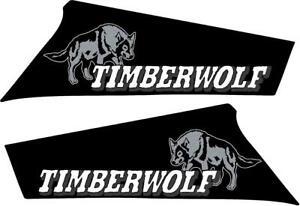 Yamaha Timberwolf 250 4x4 2x4 OEM Camo Tank side Plastic decal graphics sticker