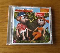 RANDY & MANDY Love For Eternity ORIGINAL 2004 EU 10 TRACK CD ALBUM EURO HOUSE