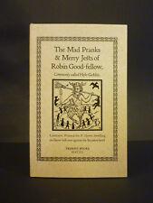 Robin Goodfellow, Trident Books, folklore, hob-goblin, fairy, rare