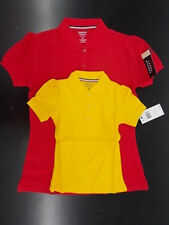 Girls French Toast $18 Uniform Gold or Red Polo Shirt Size 4 - 20