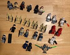 Lego Star Wars Minifigure Lot
