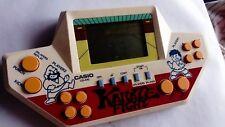 Vintage Casio Karate Fight CG 610 Handheld LCD Vintage Video Game Watch