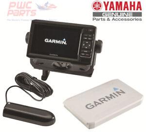"YAMAHA OEM 2019+ FX 6"" Garmin FishFinder w/ Transducer Kit F3X-H21G0-T0-00"