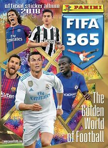 PANINI FIFA 365 2018 CHOOSE YOUR STICKER FROM THE LIST NUMBERS 1-232