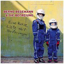 BERND BEGEMANN - EINE KURZE LISTE MIT FORDERUNGEN  CD NEU