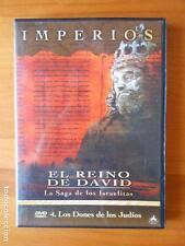 DVD IMPERIOS - EL REINO DE DAVID - LA SAGA DE LOS ISRAELITAS 4 LOS DONES ...(I3)