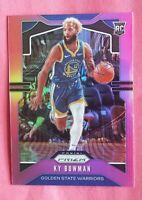 2019 panini Chronicles pink Prizm KY Bowman rookie card Golden State Warriors