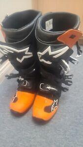 Alpinestars Tech 7 Orange Ktm Color Boots