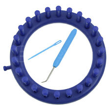 New Blue Round Circle Hat Classical 14CM Knitter Knifty Knitting Knit Loom Kit