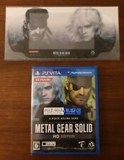 New Ps Vita Metal Gear Solid HD Edition + skin. Jap version. Playstation Vita