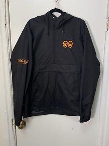 Krooked Skateboarding Company Windbreaker Jacket Black
