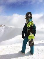 Snowboard harness carrier backpack bag by KrakenFix