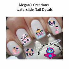 Baby Girl Baby Shower Nursery Anchor Away Nail Art Decals
