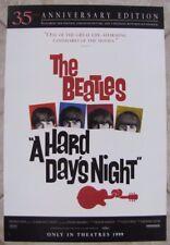 BEATLES Hard Day's Night Rock n Roll r99 ORIGINAL MOVIE POSTER 13.5 x 20