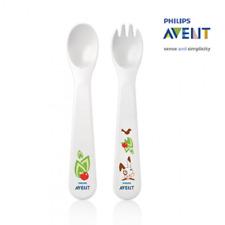 cuberteria Tenedor+ cuchara para bebes scf712 philips