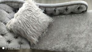 40CM x 40CM Fluffy Faux Soft Plush Pillow Case Cover Cushion Home Bed Sofa Decor