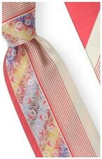 Necktie & Hanky by Steven Land -100% Silk - Red- W761-05