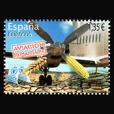 Spain 2017 - Humanitarian Aviation - MNH